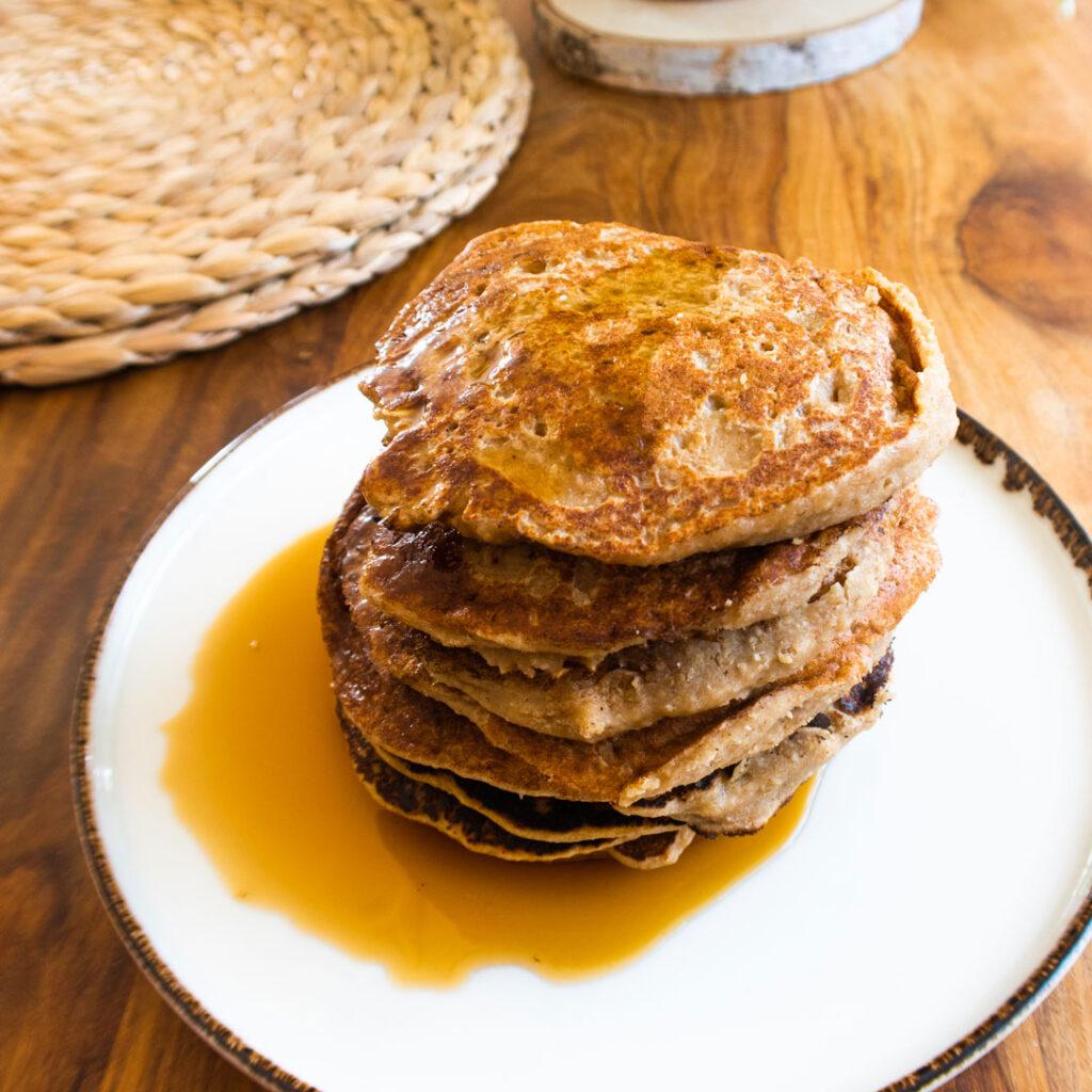 Dattel-Bananen-Pancakes