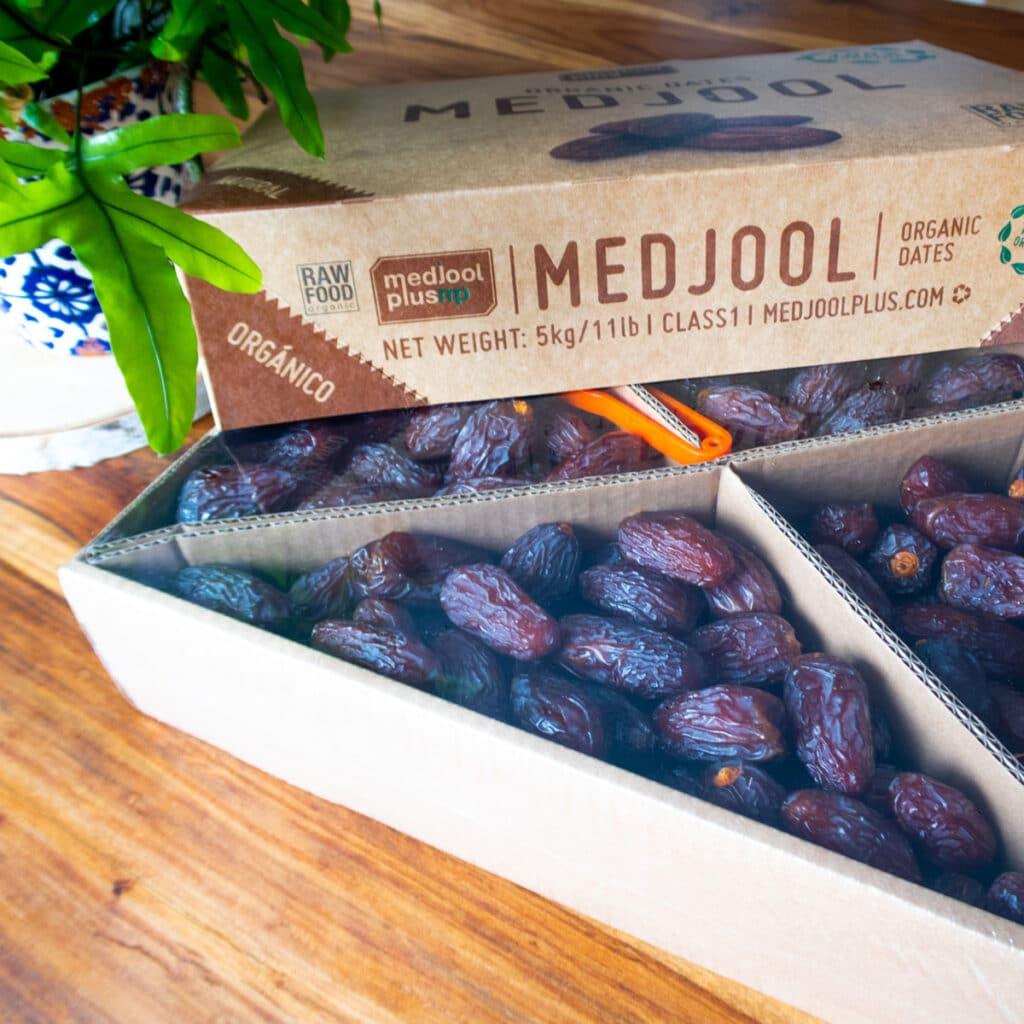 Datteln mit wertvollen Inhaltsstoffen in Bio Medjool Datteln 5 kg Box large