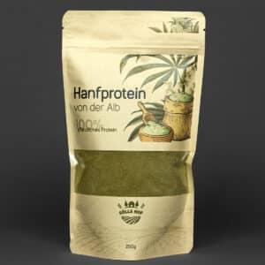 Hanfprotein 250 g für Muskelaufbau